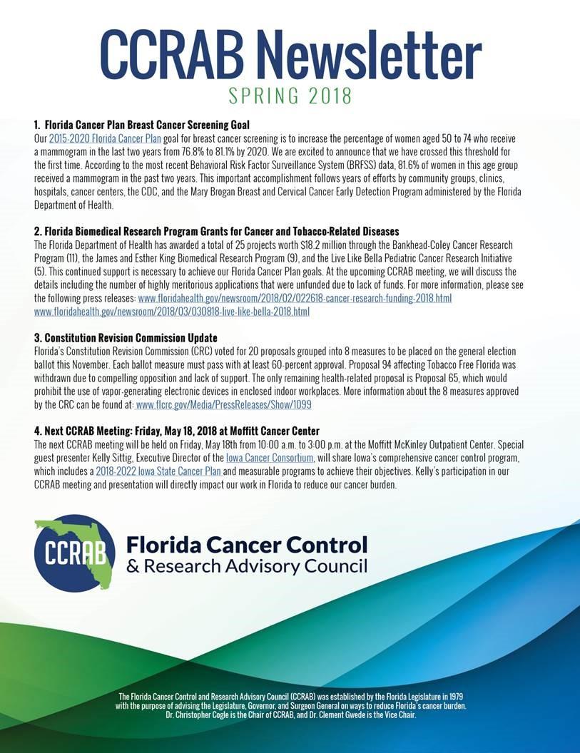 ccrab newsletter